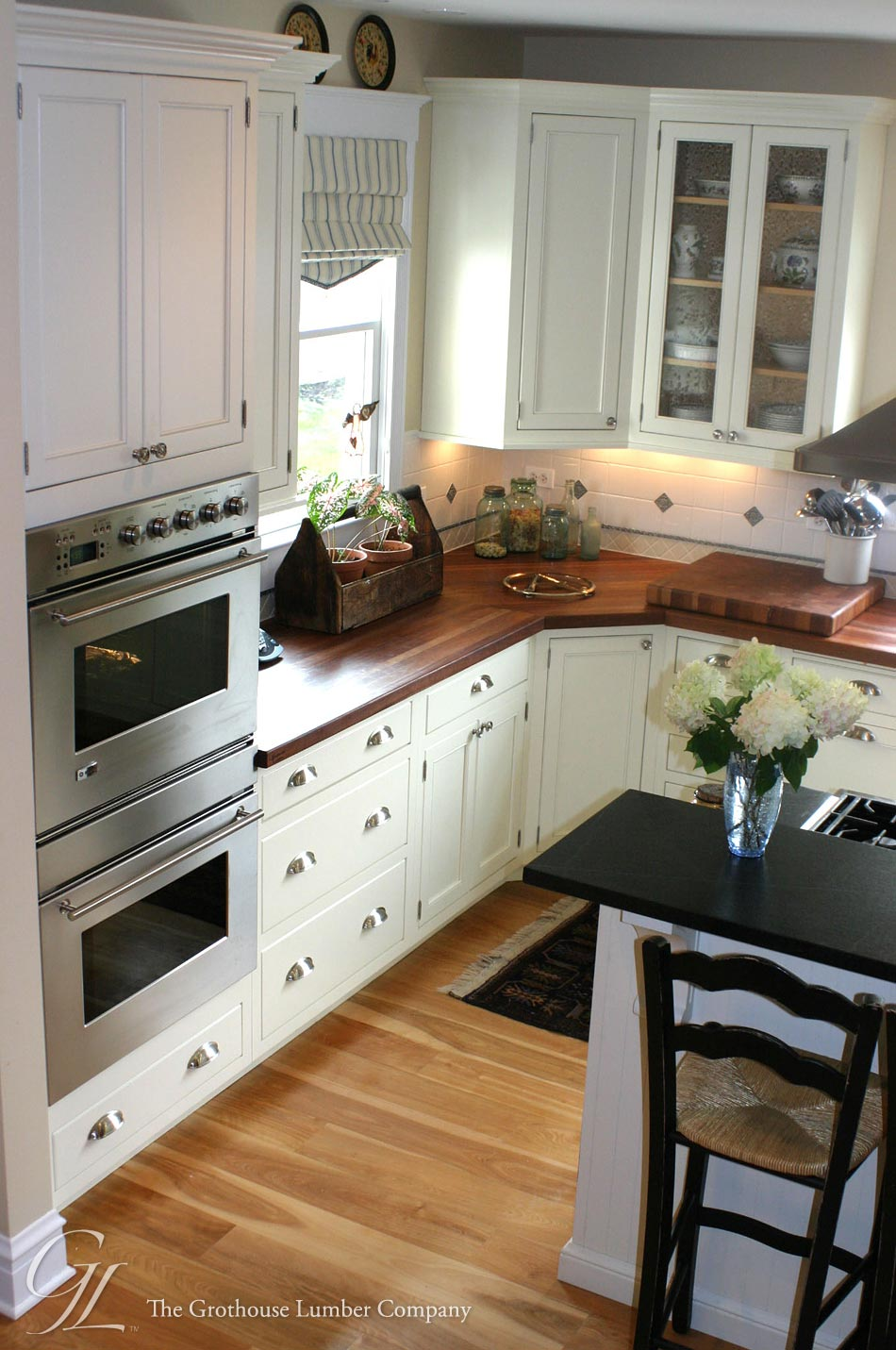 Custom American Cherry Wood Counter Tops