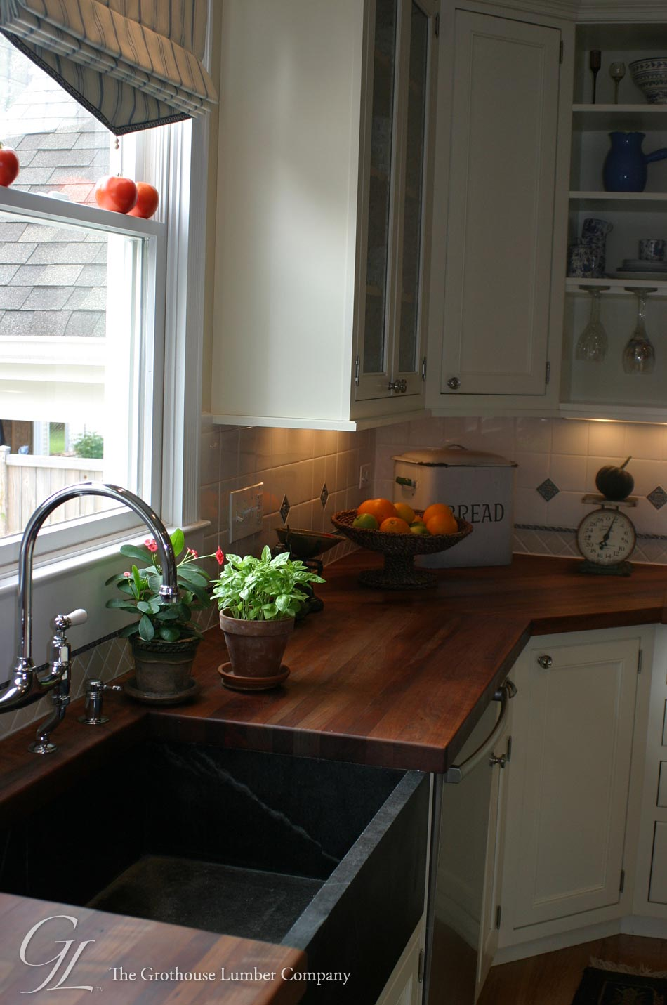 Best Wood For Butcher Block Counters: Custom American Cherry Wood Countertop
