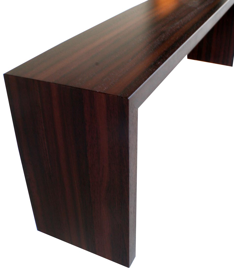 Pastore Waterfall Wood Counter Exclusive at Grothouse