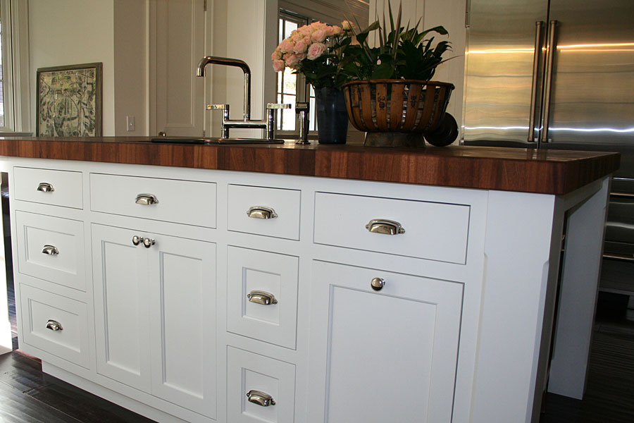 Mahogany Butcher Block Countertop in Maryland
