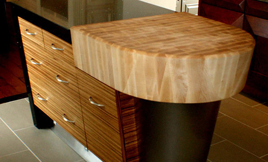 butcher block table top plans lowes island cost maple on