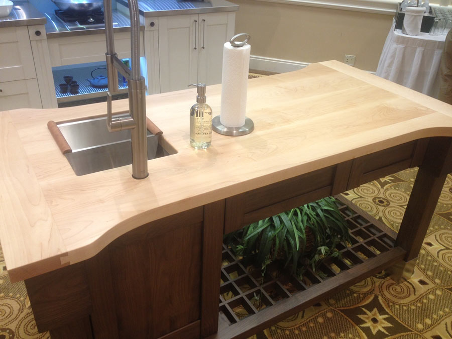 Hard Maple Wood Counter