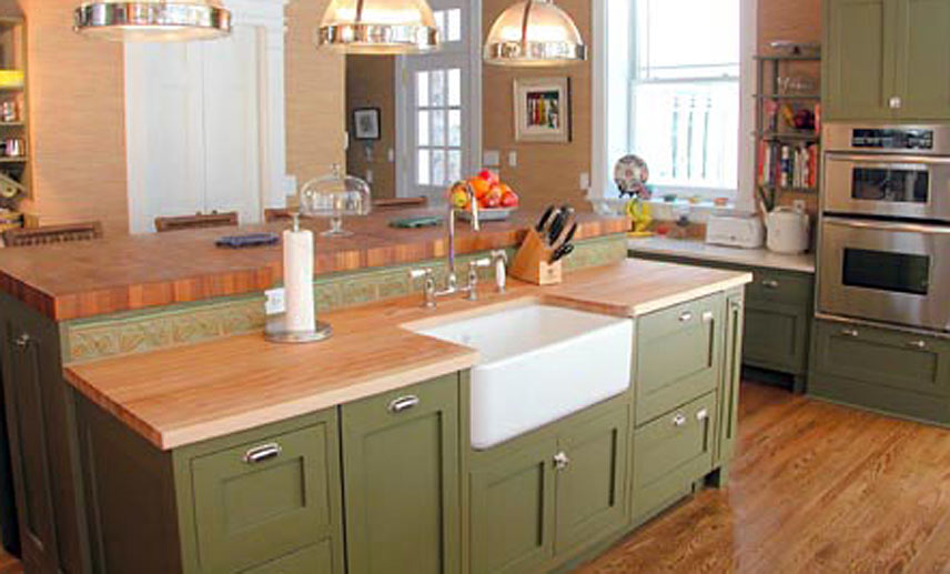 Maple Wood Countertop In Morristown New Jersey
