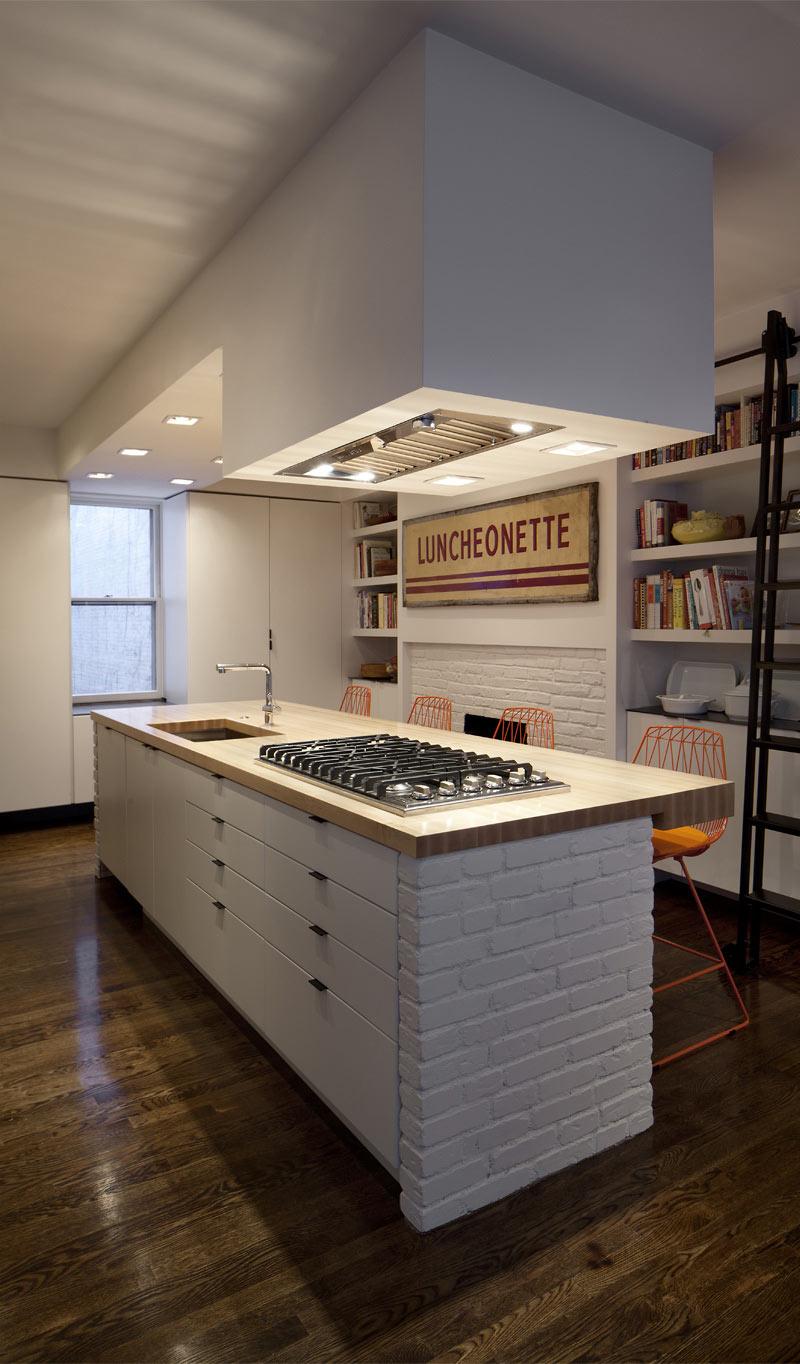 Maple Wood Countertop In Boston Massachusetts