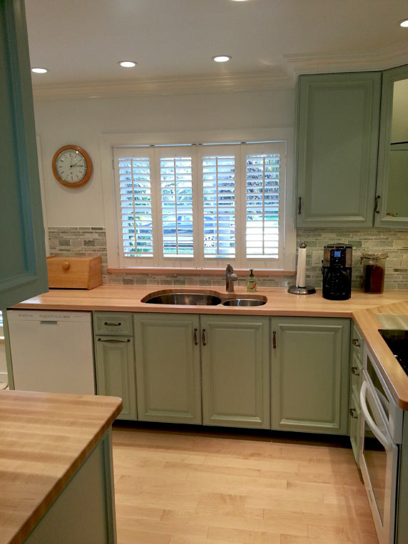 Custom Maple Wood Countertops In Boca Raton Florida
