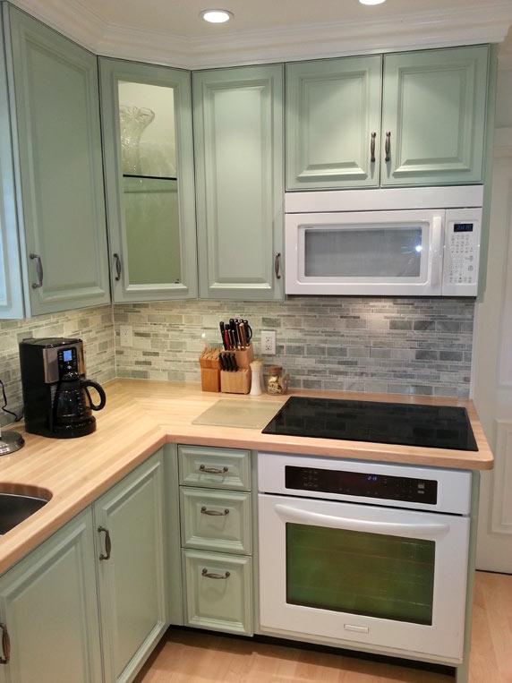 Custom Maple Wood Countertops In Boca Raton Florida