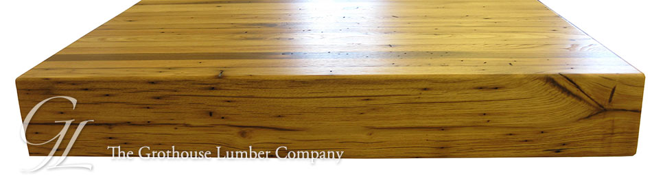 Custom Reclaimed Chestnut Countertop in Pittsburgh, PA
