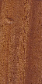 African Mahogany Wood with Belle Haven Stock Stain