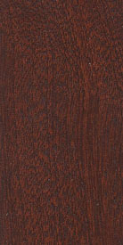 Sapele Mahogany Wood with Antique Mahogany Stock Stain
