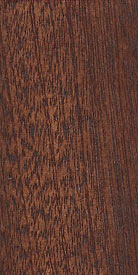 Sapele Mahogany Wood with Bahama Nights Stock Stain
