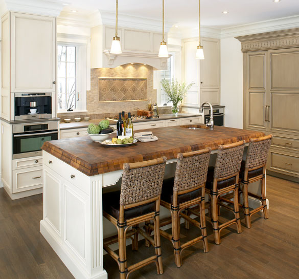 amazing Kitchen Island With Chopping Block Top #9: White Kitchen Island With Butcher Block Top - 1000+ images about butcher  block on Pinterest. 1000+ ...