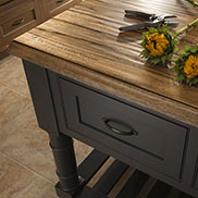 Custom Saxon Wood™ Hand Planed Countertop