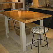 Bamboo Butcher Block Countertop in Florida
