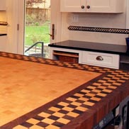 Beech, Wenge, Walnut Butcher Block Countertop in MD