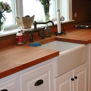 Cherry Wood Counter IL