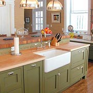 Maple Wood Countertop in New Jersey