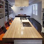 Maple Wood Countertops in Boston, MA