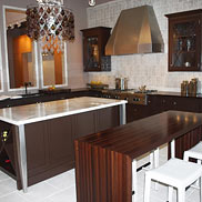 Walnut Wood Countertop in Boston, MA