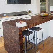 Walnut Butcher Block Countertop in Illinois
