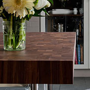 Walnut Butcher Block Countertop