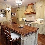 Walnut Wood Countertop in New Orleans, LA