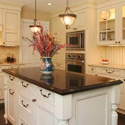 Wenge Kitchen Island Wood Countertop