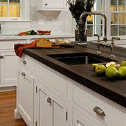 Wenge Wood Countertop with sink