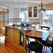 Stained Cherry Kitchen Table Top in Princeton, New Jersey