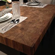 Zebrawood Butcher Block Countertop
