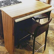 Zebrawood Wood Counter in FL