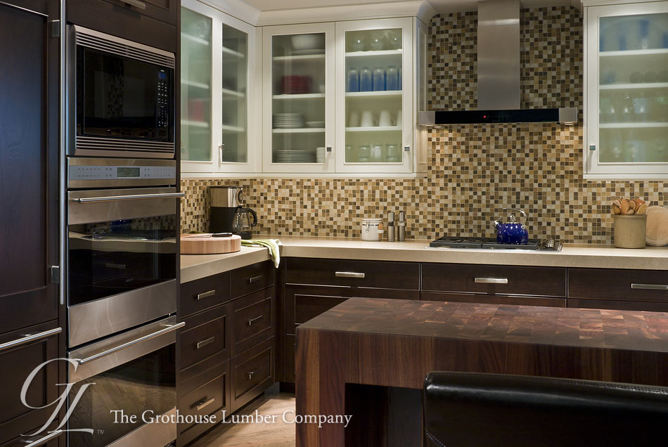 Walnut with Sapwood Butcher Block Pastore™ Countertop in IL