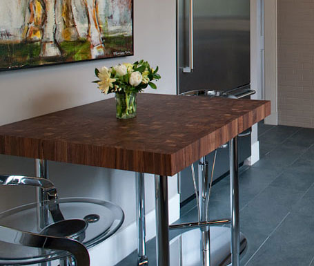 Custom Butcher Block Dining Tables, Kitchen Tables and Table Tops