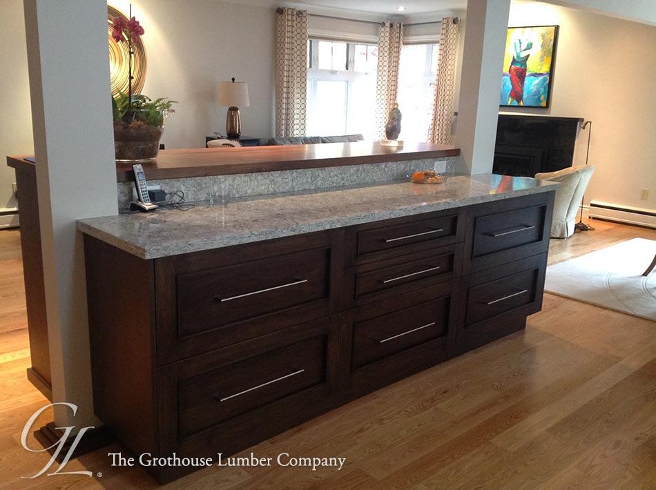 Walnut Island Counter in Barrie Ontario Canada