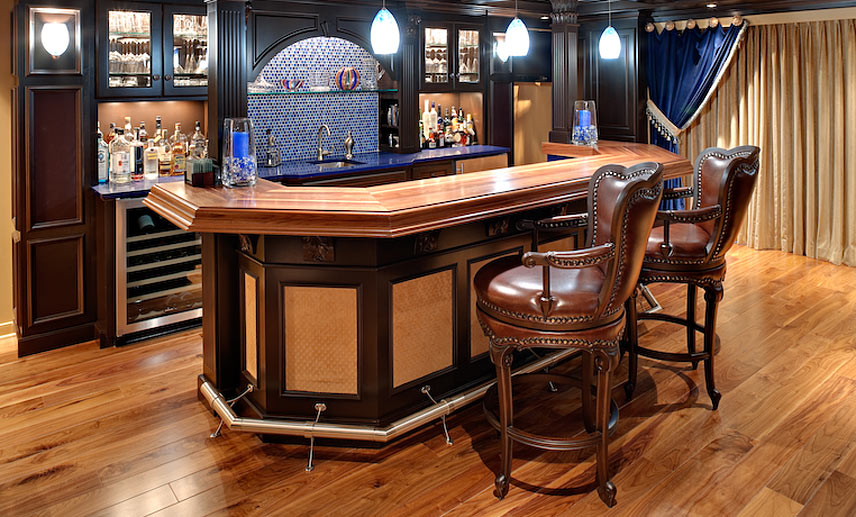 Commercial bar tops of wood for a restaurant cafe or pub by grothouse - Bar tops ideas ...