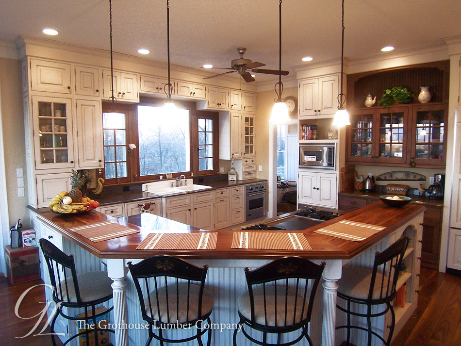 Walnut Wood Countertop in Elkton, VA