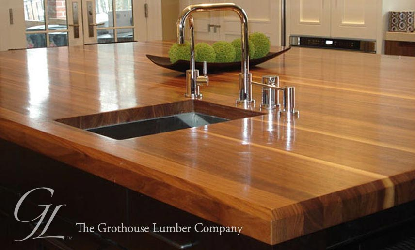 Http Www Glumber Com Image Library Custom Walnut Wood Countertop In Boston Massachusetts