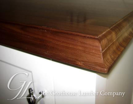 Walnut with Sapwood Wood Countertop in NY