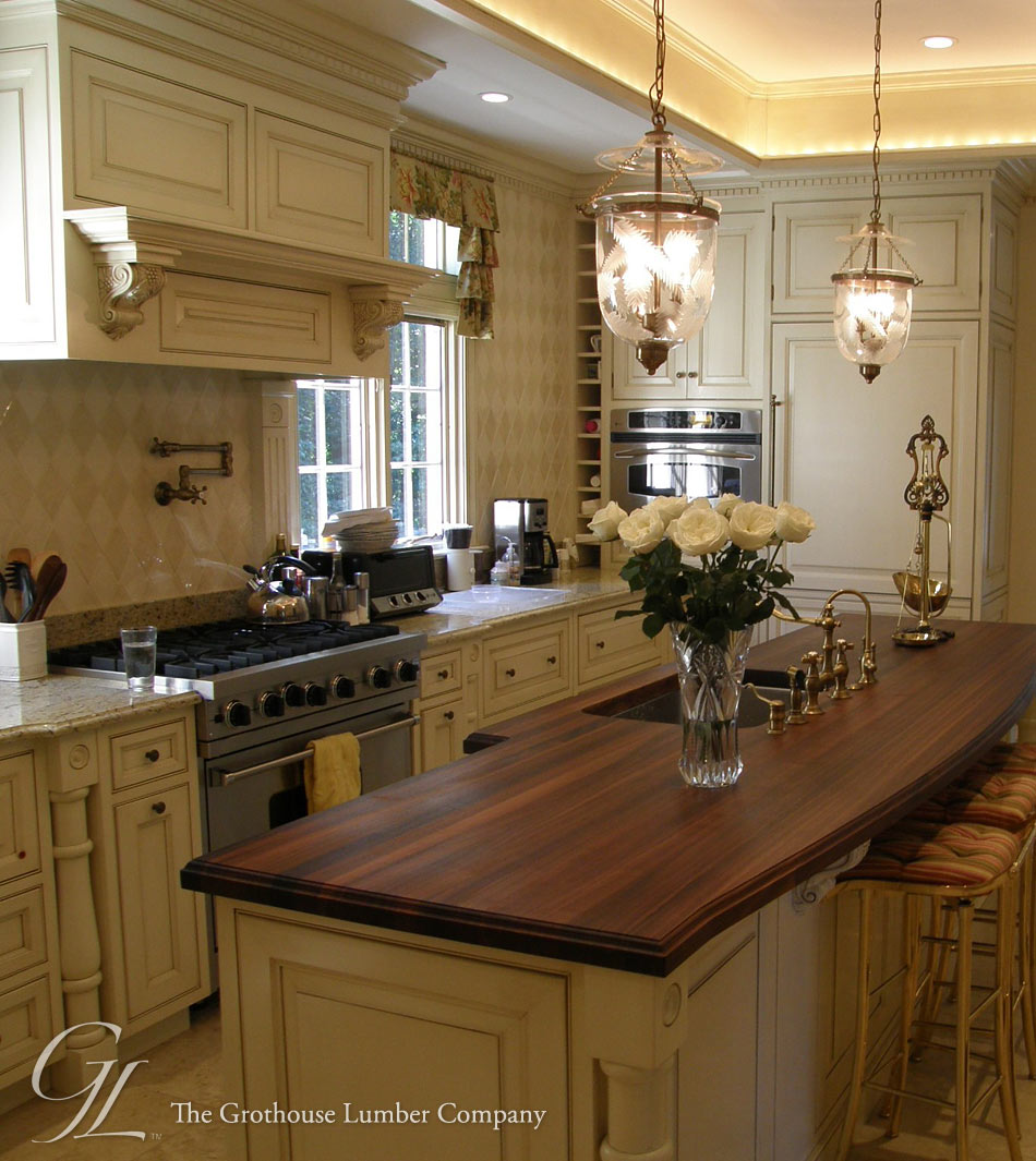 amusing kitchen island counter | Walnut Wood Countertop in Villanova, Pennsylvania