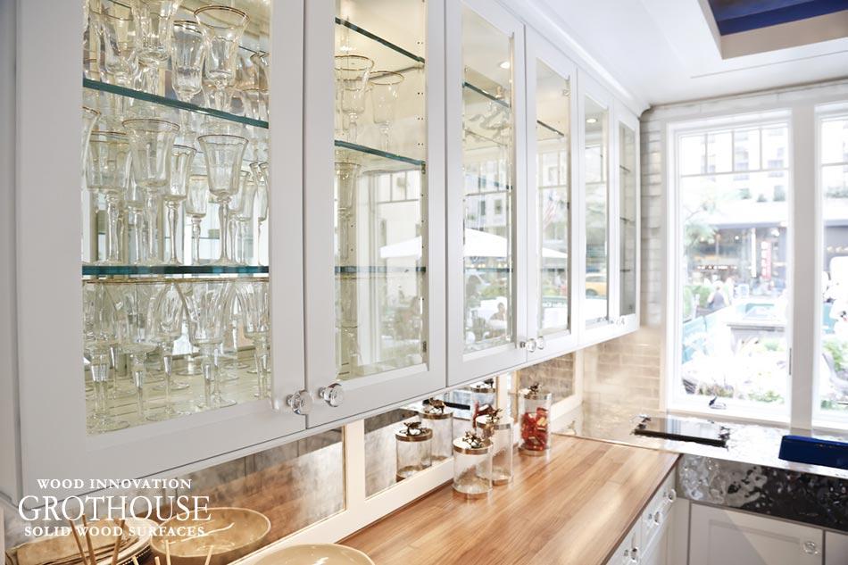 Walnut Countertops In House Beautiful Koty 2012 Pantry