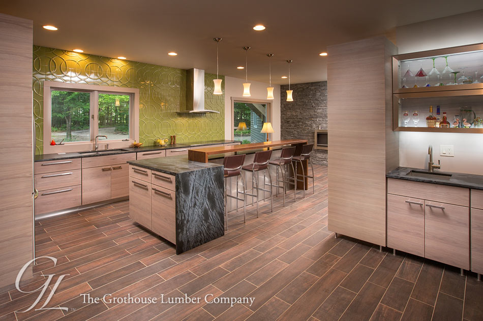Award Winning Design With Grothouse Walnut Wood Counter