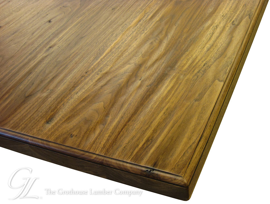 Walnut Hand Planed Wood Counter in WI