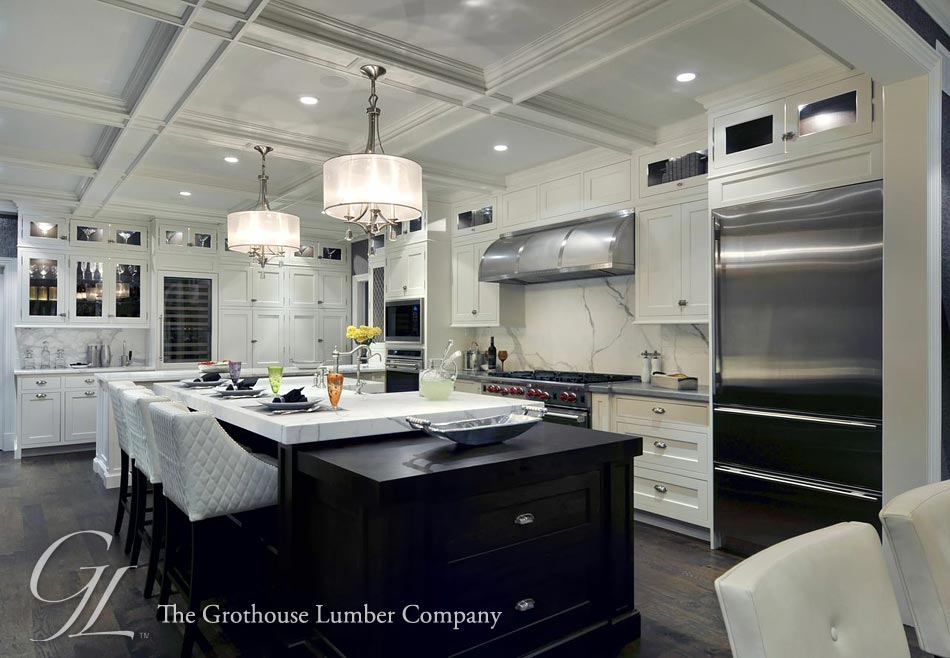 Wenge butcher block countertop in long island new york for Luxury kitchen new york