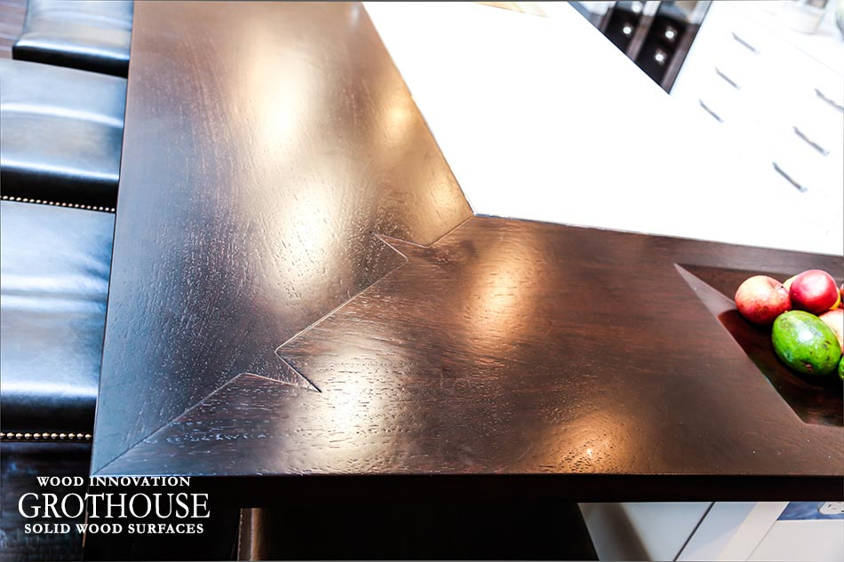 Custom Wenge Countertop in House Beautiful KOTY 2012