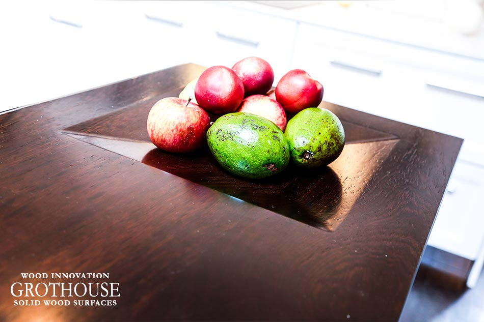Integrated Bowl in wood countertop House Beautiful KOTY 2012
