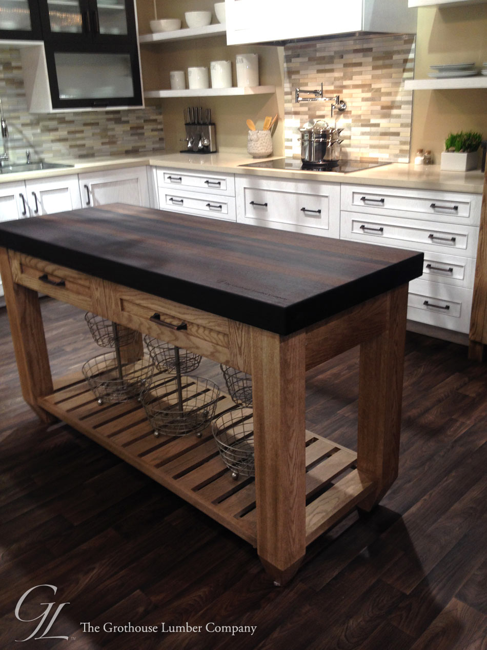 Wenge Countertop in Elkay booth at KBIS 2014