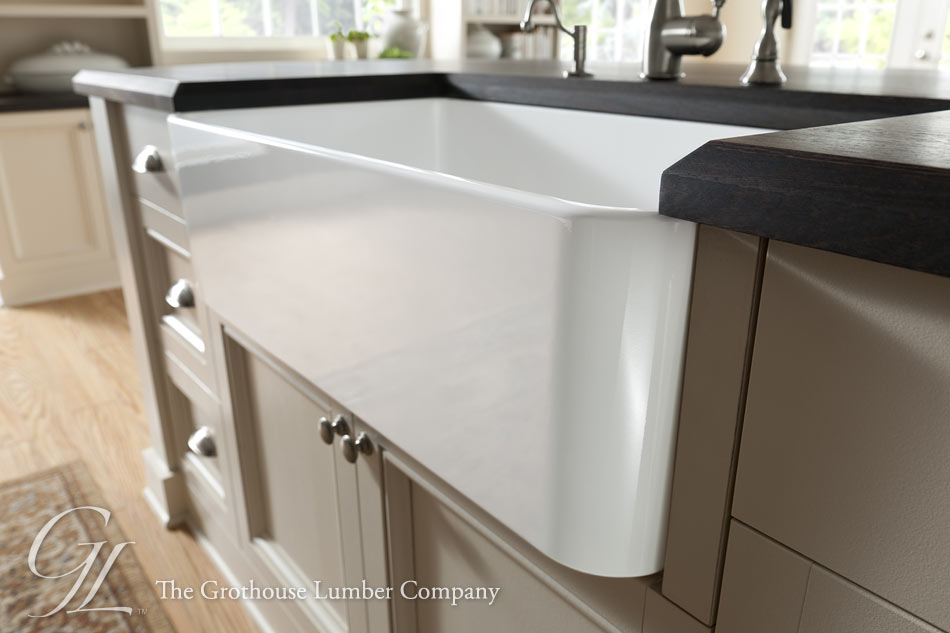 Sink Cutouts in Wood Tops