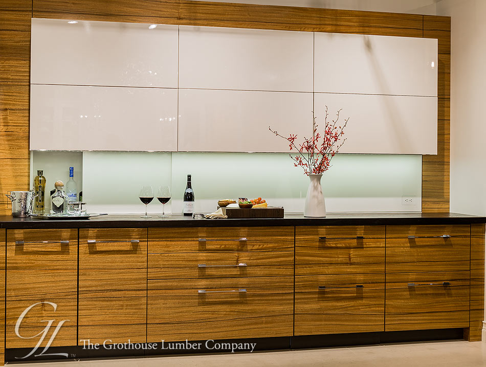 Wenge Wood Counter Designed By Venegas And Company
