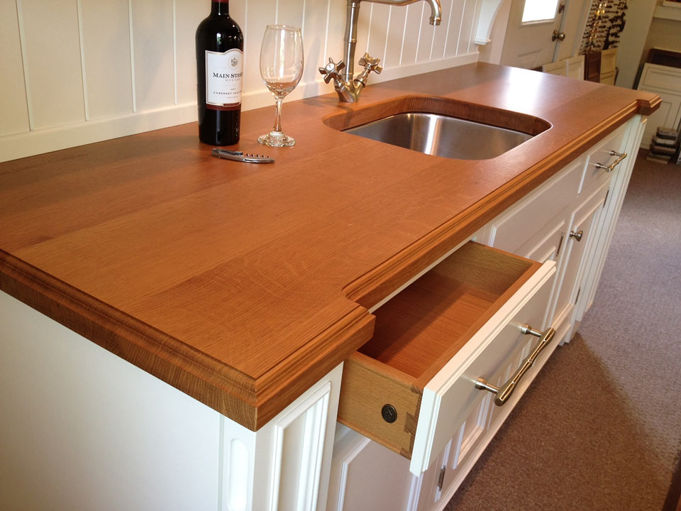Red Oak Kitchen Countertops