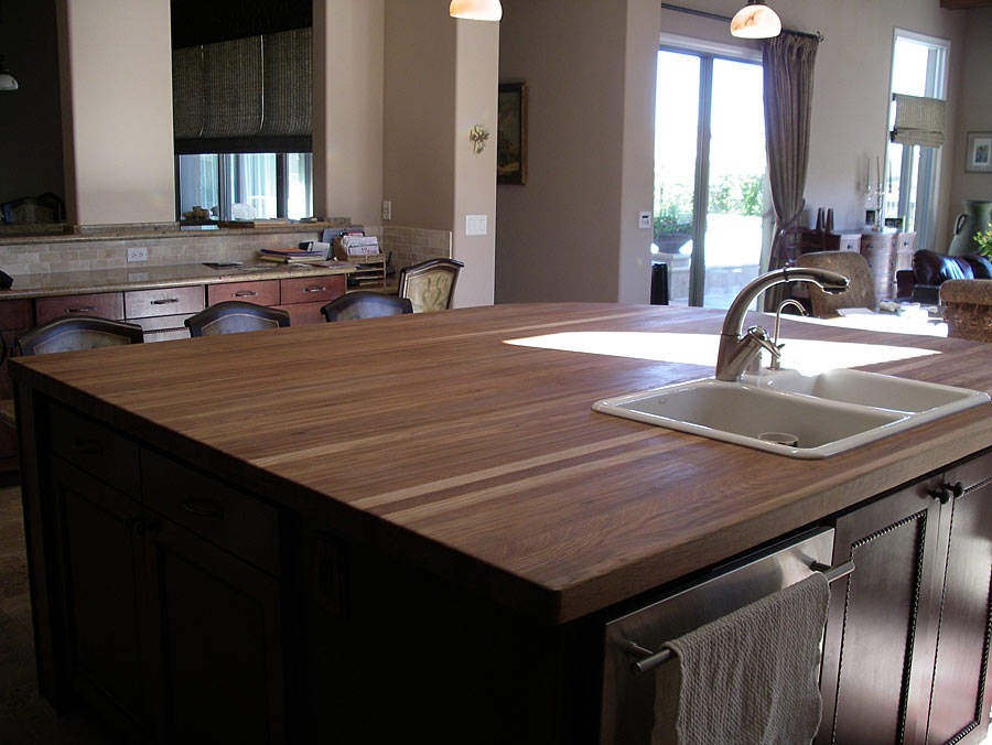White Oak Wood Countertop In Las Vegas Nevada