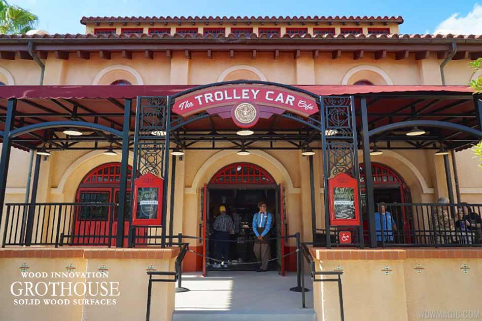 White Oak Counters in Trolley Car Café at Disney®